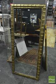 Sale 8398 - Lot 1057 - Large Gilt Framed Mirror