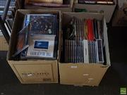 Sale 8582 - Lot 2404 - 2 Boxes of CDs