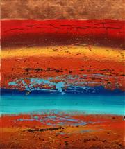 Sale 8633A - Lot 5067 - Julie Crozier - Landscape II 80 x 59.5cm (frame: 107 x 86cm)