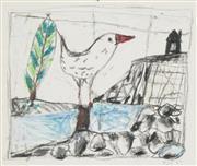Sale 8722A - Lot 5089 - Peter Ferguson (1956 - ) - Bird, 1989 18 x 23cm