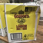 Sale 8801W - Lot 29 - 6x Gordons London Dry Gin, 1000ml