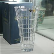 Sale 8306 - Lot 59 - Bohemian Crystal Vase