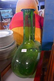 Sale 8360 - Lot 71 - Green Glass Bottle