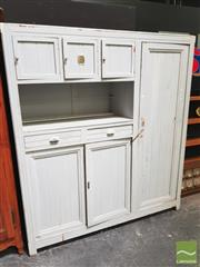 Sale 8451 - Lot 1033 - Vintage Painted Maids Cabinet