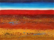Sale 8633A - Lot 5068 - Julie Crozier - Landscape III 59.5 x 80cm (frame: 86 x 107cm)