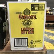 Sale 8801W - Lot 30 - 6x Gordons London Dry Gin, 1000ml