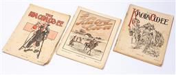 Sale 9190E - Lot 97 - Nine issues of The Kia Ora Coo Ee articles