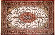 Sale 8290A - Lot 96 - Persian Pure Silk Qum 210cm x 137cm RRP $13,000