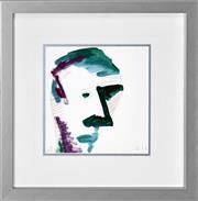 Sale 8363 - Lot 540 - Adam Cullen (1965 - 2012) - Self Portrait 26 x 25cm