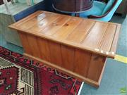Sale 8601 - Lot 1291 - Timber Lift Top Trunk