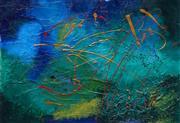 Sale 8633A - Lot 5069 - Julie Crozier - Landscape IV 50.5 x 70cm (frame: 77 x 97cm)