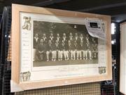 Sale 8789 - Lot 2111 - Bradmans Invincibles  Print