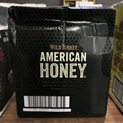 Sale 8801W - Lot 31 - 6x Wild Turkey American Honey Bourbon Whiskey, 700ml