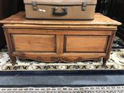 Sale 8822 - Lot 1557 - Carved Mahogany Coffee table