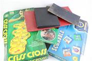 Sale 8827T - Lot 647 - Collection of Games inc Hoodwink, Criss Cross, Scrabble and others inc Vintage Board Mats
