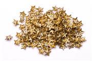 Sale 9078 - Lot 131 - A Group of Soviet Gilt Shoulder Stars ,