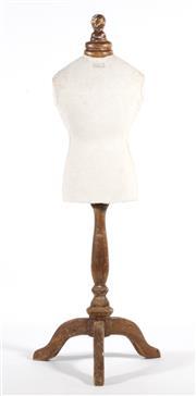 Sale 9090 - Lot 62 - A Vintage Paris Childs Mannequin (h:77cm)