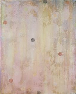 Sale 9161 - Lot 557 - MATTHEW JOHNSON (1963 - ) Alabaster Sky oil on linen 152 x 122 cm unsigned, Tim Olsen Gallery label verso