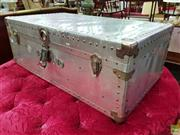 Sale 8570 - Lot 1057 - Metal Trunk