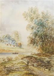 Sale 8773A - Lot 5073 - Edmund Darch Lewis (1835 - 1910) - Richmond, Pennsylvannia USA 1896 25 x 18cm