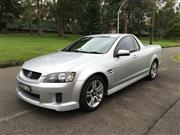 Sale 8375V - Lot 4 - 2010 Holden VE SV6 Utility                                                   Reg No: BNB 12F...