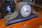 Sale 8500 - Lot 1093 - 1920S Gustav Becker Mantle Clock (later hands, pendulum, key & part of door latch in office)