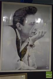 Sale 8518 - Lot 2025 - Johnny Cash, Photographic Print, 82 x 61cm