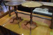Sale 8542 - Lot 1096 - Pair of Side Tables