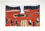 Sale 8592A - Lot 5083 - Nami Maymuru (1952 - ) - Life #2 26.5 x 42.5cm (image), 58 x 76cm (frame)