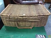 Sale 8601 - Lot 1167A - Cane Picnic basket