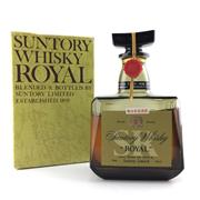 Sale 8660 - Lot 717 - 1x Suntory Whisky Royal Blended Japanese Whisky - old bottling, some evaporative losses, in box