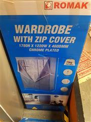 Sale 8663 - Lot 2166 - Romak Wardrobe Kit with Zip Cover, in box