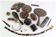 Sale 8935 - Lot 52 - A Large Collection of Tortoise Shell Dressing Table Wares