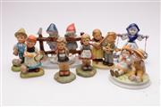 Sale 9052 - Lot 150 - Collection of Goebel and other figures