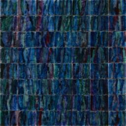 Sale 9161 - Lot 540 - MATTHEW JOHNSON (1963 - ) Velvet Sea mixed media on plastic 100 x 100 cm unsigned, labelled verso, Tim Olsen Gallery stamp verso