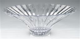 Sale 9211 - Lot 49 - A Large Villeroy & Boch Crystal Centre Bowl (Dia:39.5cm)