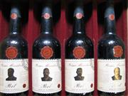 Sale 8514W - Lot 61 - 1x 1979 Wyndham Estate Prime Miniters Series 1 Vintage Port, Hunter Valley - 4 bottles in timber presentation box