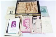 Sale 8940 - Lot 17 - Musical Notation Box (38cm x 28cm 9cm) Containing Sheet Music