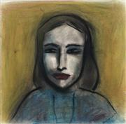 Sale 8947 - Lot 532 - Robert Dickerson (1924 - 2015) - The Girl 33 x 34 cm (frame: 60 x 60 x 3 cm)