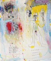 Sale 9081A - Lot 5048 - Del Kathryn Barton (1972 - ) - Retain Your Bewilderment, 1996 168.5 x 141.5 cm (frame: 172 x 145 x 6 cm)