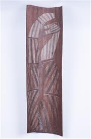 Sale 8575J - Lot 40 - Makarainmak - Aboriginal bark, probably mid 20th century