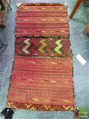 Sale 8545 - Lot 1038 - Persian Saddle Bag