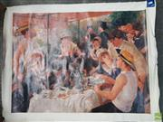 Sale 8604 - Lot 2031 - Renoir Decorative Print on canvas (unstretched)