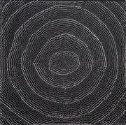 Sale 8755 - Lot 573 - Lily Kelly Napangardi (1948 - ) - Rockholes 100 x 98cm