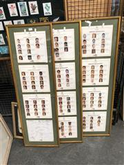 Sale 8789 - Lot 2117 - 3 Framed USA 1996 Australian Olympic Medal Winners with Autographs
