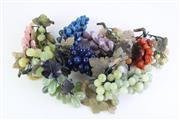 Sale 8832 - Lot 33 - Large Collection of Stone Fruit Decorations