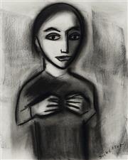 Sale 9081A - Lot 5016 - Robert Dickerson (1924 - 2015) - The Child 37 x 29 cm (frame: 65 x 55 x 3 cm)