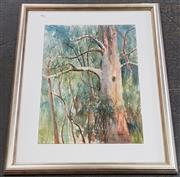 Sale 8978 - Lot 2066 - Cynthia Jackson The Grove, watercolour, 51 x 36 cm (frame: 71 x 54 x 4 cm) signed lower right