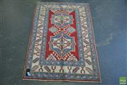 Sale 8406 - Lot 1048 - Afghan Kazak (142 x 96cm)