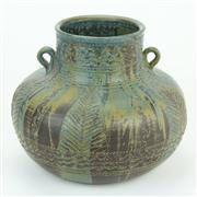 Sale 8413 - Lot 3 - Allan Lowe Australian Pottery Vase